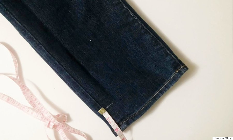 diy frayed jeans