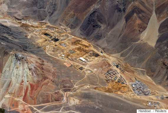 barrick gold south america