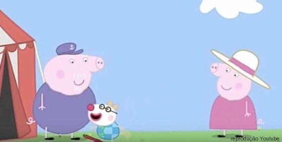 """""""Se os pais interagem com elas durante um programa, se elas querem assistir  à Peppa Pig [mas] estão cantando, dançando e interagindo, aí é  completamente ..."""