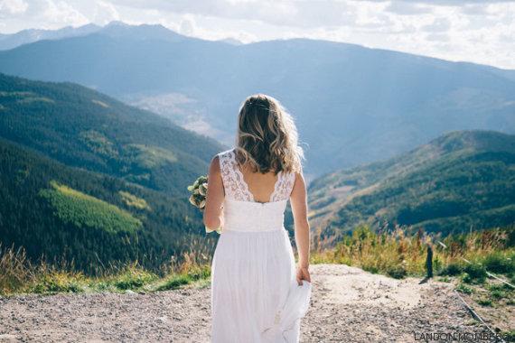 novia espaldas