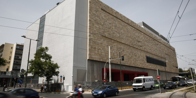 A view of the National Museum of Contemporary Art in Athens, Greece, on Saturday, May 16, 2015.  The ministry of Culture and Sports organized a media tour at the museum which is expected to open its gates for the public within the year.  (AP Photo/Yorgos Karahalis)