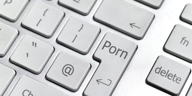 Internet porn computer keyboard