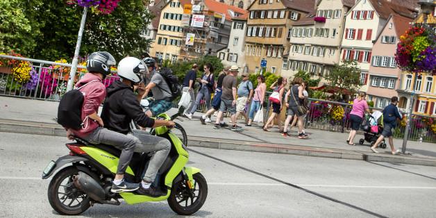 Die Stadt Tübingen will mit einer Abwrackprämie für Mofas und Co. die Luftqualität der Stadt verbessern