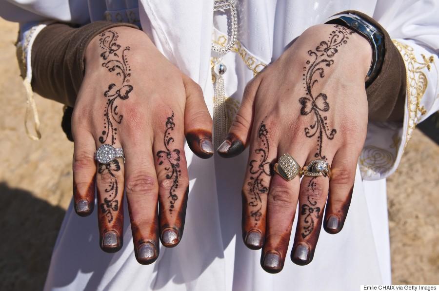 henna wedding tunisia
