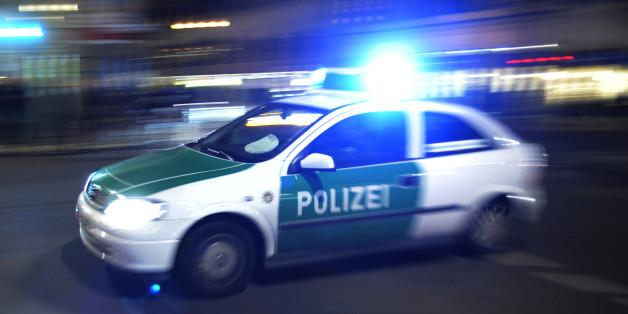 Ein Polizeiwagen (Symbolbild)