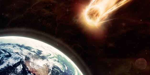 Meteoriten sind Gesteinsbrocken aus dem Weltall