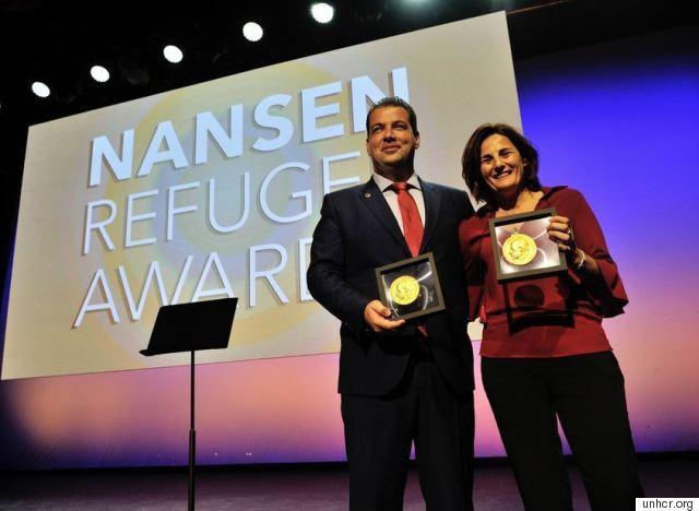 nansen refugee award