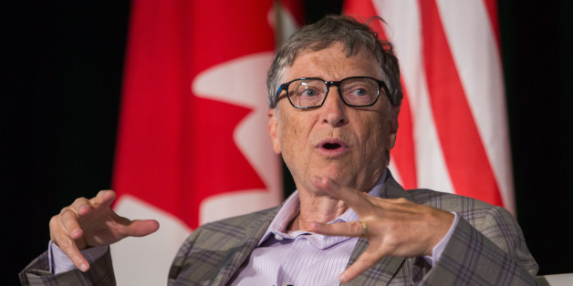 Bill Gates, co-founder of Microsoft Corp., speaks during the Emerging Cascadia Innovation Corridor Conference in Vancouver, British Columbia, Canada, on Tuesday, Sept. 20, 2016. The conference focused on the creation of a new global hub for innovation and economic development. Photographer: Ben Nelms/Bloomberg via Getty Images