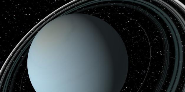 Der Uranus ist 2,9 Milliarden Kilometer von der Sonne entfernt