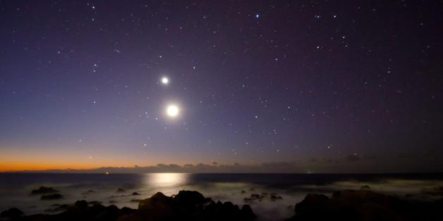 Die Venus ist von der Erde aus deutlich erkennbar