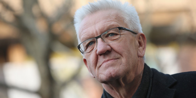 Der grüne Ministerpräsident Baden-Württembergs, Winfried Kretschmann, macht seine Partei für den Erfolg der AfD mitverantwortlich
