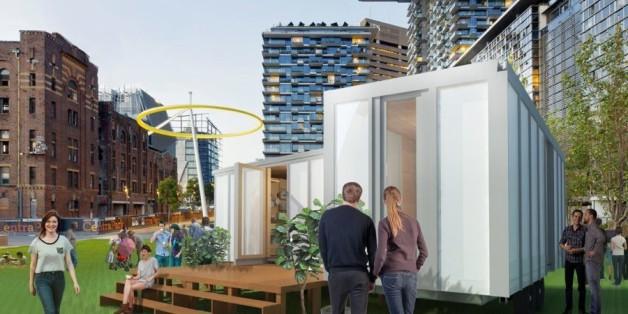 """""""Big World Homes"""" sollen in Zukunft ein Eigenheim in der Großstadt bezahlbar machen"""