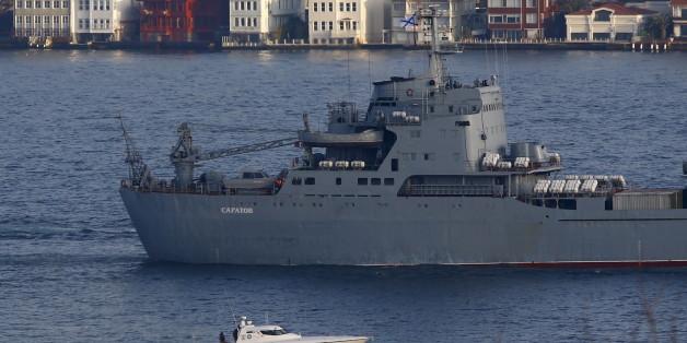 Russische Kriegsschiffe im Mittelmeer (Archivbild)