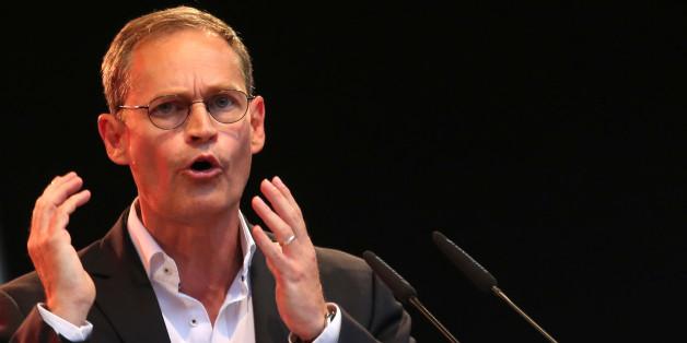 Der SPD-Bürgermeister von Berlin, Michael Müller