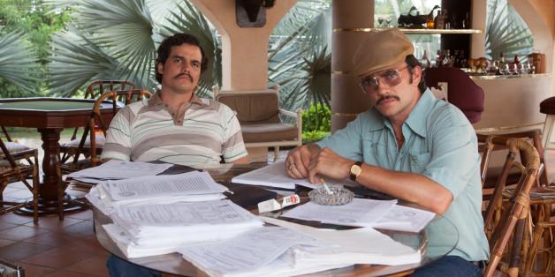 """Die Netflix-Serie """"Narcos"""" erzählt vom Aufstieg und Fall des Drogenbosses Escobar, doch anscheinend besteht sie mehr aus Fiktion als aus Fakten."""