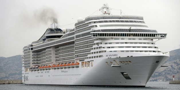 The MSC Splendida cruise ship, whose passengers were among the victims of a deadly attack on the National Bardo museum in Tunis, arrives at the port of Marseille, southern France, on March 21, 2015. The Islamic State jihadist group claimed responsibility for the attack on foreign tourists at Tunisias national museum on March 18 that killed 21 people, three of them French tourists, as the security forces swooped on suspects. AFP PHOTO / FRANCK PENNANT        (Photo credit should read FRANCK PENNANT/AFP/Getty Images)