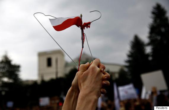 poland abortion ban protest