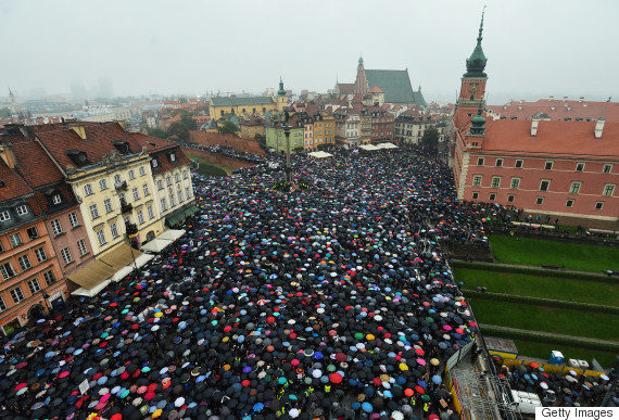 poland abortion ban protests