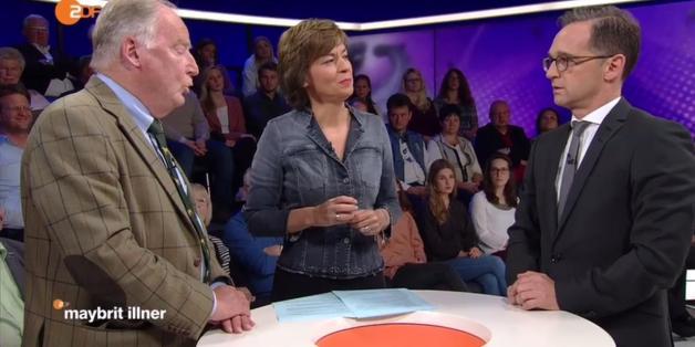 """Alexander Gauland bei """"Maybrit Ilner"""""""
