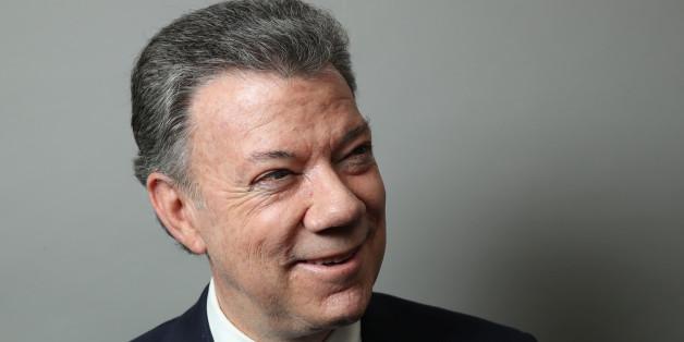 Der kolumbianische Präsident Juan Manuel Santos erhält den Friedensnobelpreis.