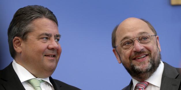 Sigmar Gabriel und Martin Schulz – Kämpfen beide um die Kanzlerkandidatur?
