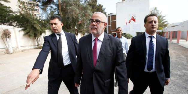 Abdelillah Benkirane, secretary-general of the Islamist Justice and Development party (PJD), arrives at a polling station in Rabat October 7, 2016. REUTERS/Youssef Boudlal