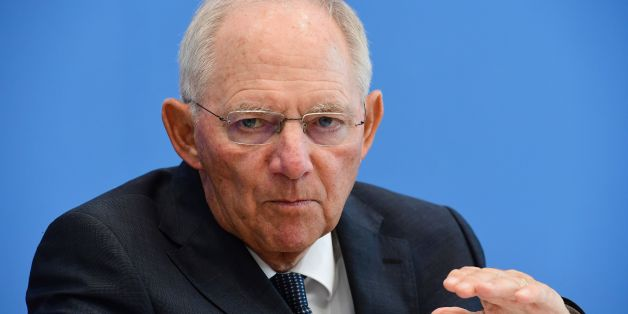 German Finance Minister Wolfgang Schäuble attends a press conference on the German budget plan for 2017 in Berlin, on July 6, 2016. / AFP / John MACDOUGALL        (Photo credit should read JOHN MACDOUGALL/AFP/Getty Images)