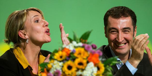 Cem Ozdemir und Simone Peters.