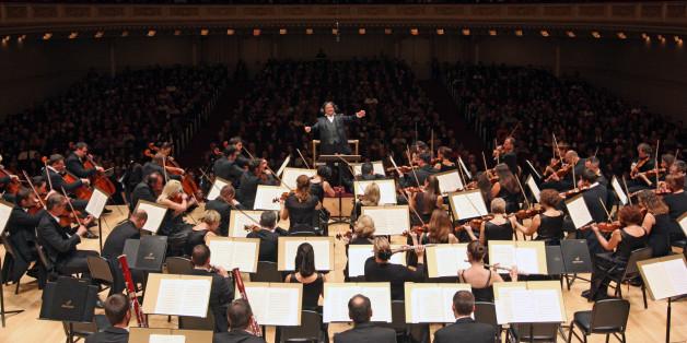 Ein Sinfonieorchester (Symbolbild)