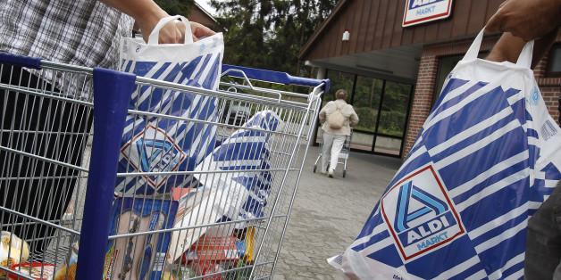 Einkaufen bei Aldi (Archivfoto)