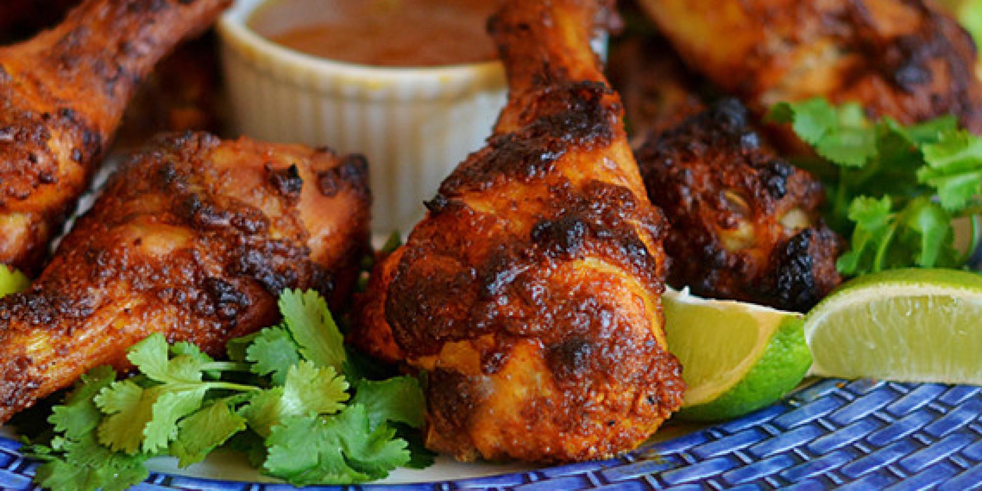 Хрустящие куриные голени в духовке рецепт