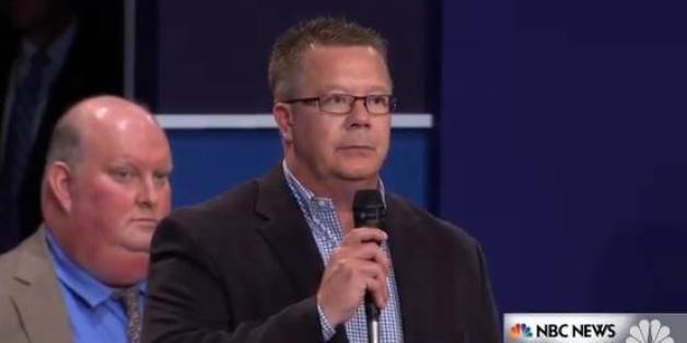 Die Frage dieses Zuschauer brachte die Kandidaten des TV-Duells aus dem Konzept