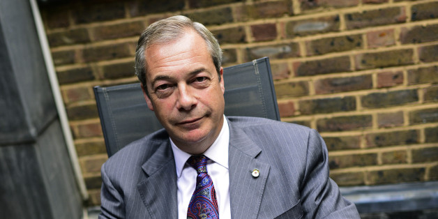 Former UKIP leader Nigel Farage poses for a picture during an interview with Reuters at his Westminster office in London, Britain September 21, 2016. Britain's Brexit vote is an inspiration to Donald Trump's U.S. Presidential campaign and will help spur him to victory, said Farage, one of the key architects of the popular uprising that saw Britons vote to leave the European Union in June.  REUTERS/Dylan Martinez