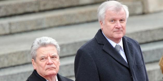 Gauck und Seehofer