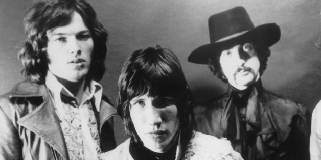 (GERMANY OUT) Pink Floyd - Musikgruppe, Grossbritannienv. links: David Gilmour, Roger Waters,Nick Mason, Richard Wright- Ende 1969 (Photo by ullstein bild/ullstein bild via Getty Images)