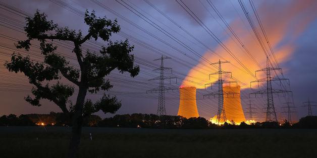 Das Atomkraftwerk in Grafenrheinfeld