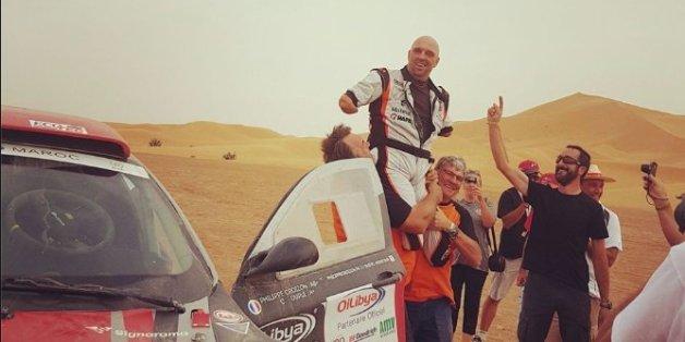 Quadruple amputé, il réussit à terminer le rallye du Maroc