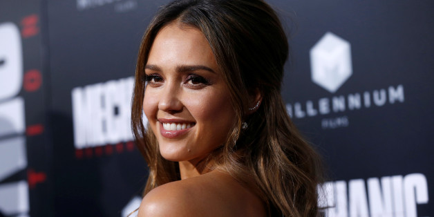 """Cast member Jessica Alba poses at the premiere for the movie """"Mechanic: Resurrection"""" in Los Angeles, California U.S., August 22, 2016.   REUTERS/Mario Anzuoni"""