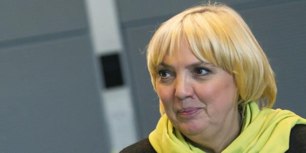 Die Grünen-Politikerin Claudia Roth