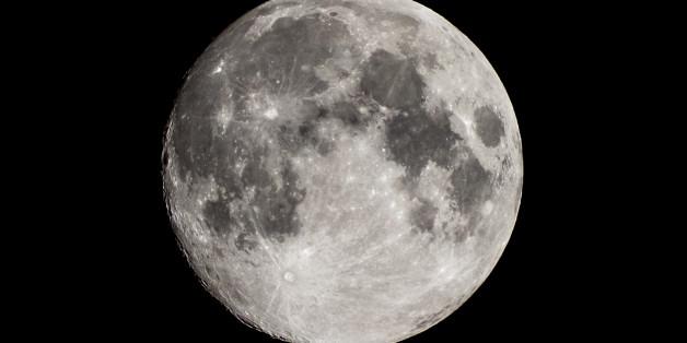 Harvest moon in Japan 2013.