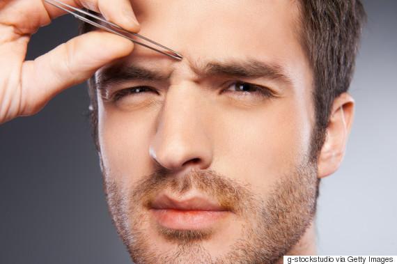 man eyebrows