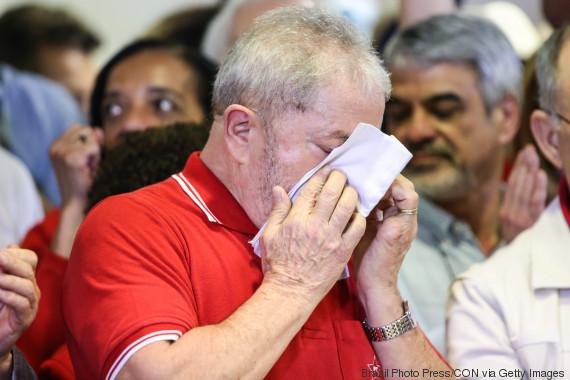 lula crying