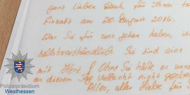 Zwei Polizistinnen retteten eine Hochzeit in Hessen
