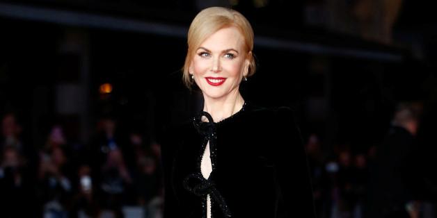 """""""Lion""""-Premiere: Nicole Kidman trägt elegantes Herbstkleid aus Samt"""