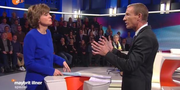 "Der Wahlkampfmanager Stefan Petzner bei ""Maybrit Illner"""