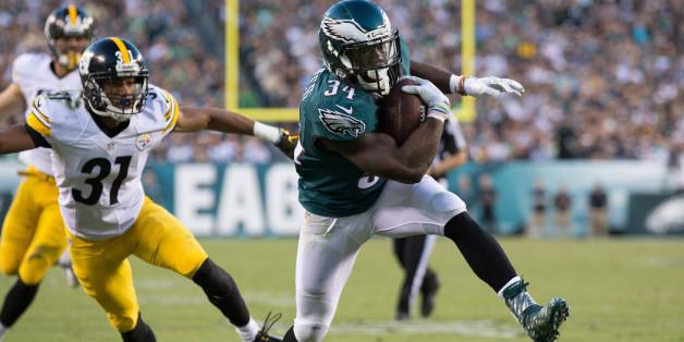 Philadelphia Eagles spielen am Sonntag gegen die Washington Redskins