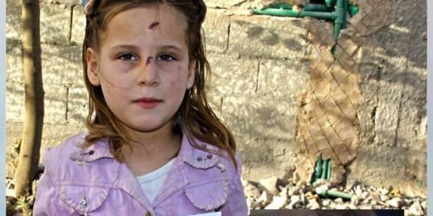 Ein Video eines weinenden Mädchens nach einem Bombenangriff in Syrien ging vergangene Woche um die Welt
