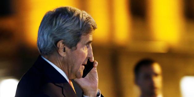 US-Außenmnister John Kerry in Lausanne