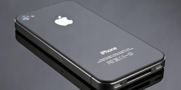 Apple's iPhone 4 shot in a studio on a reflective background, June 24, 2010. (Photo by Will Ireland/T3 Magazine via Getty Images)