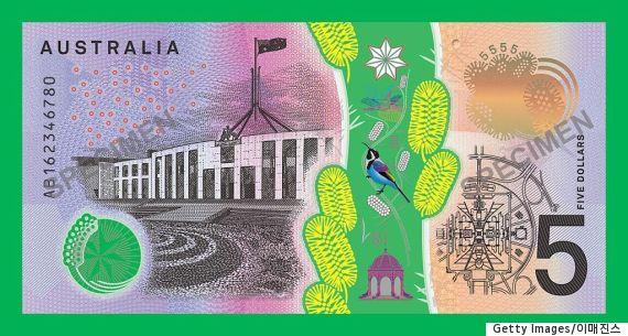 australia 5 dollar